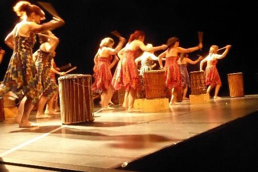 Atelier percu danse